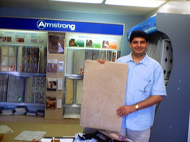 Mehul with Carpet