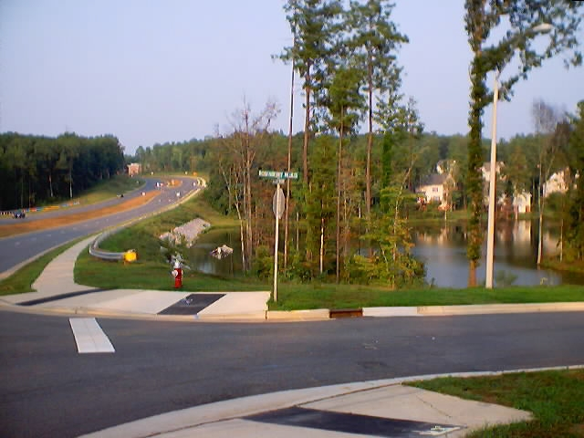 The Intersection of Rosenberry Hills Drive & Cary Parkway