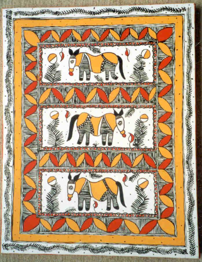 Madhubani - On Canvas
